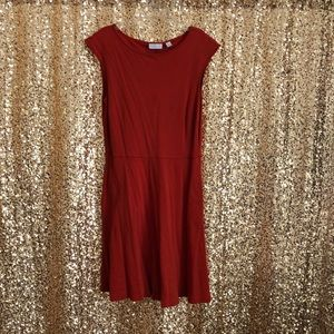 Easy breezy  knit cap sleeved dress